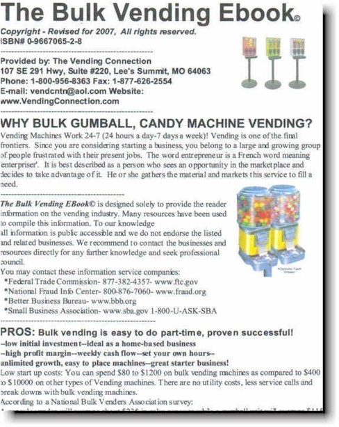 bulk machine business